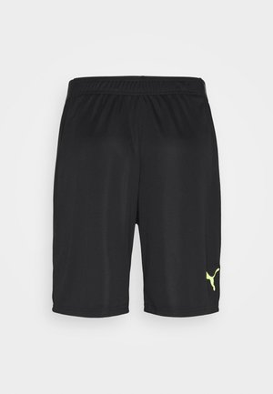 FTBLNXT SHORTS - Korte broeken - black/nrgy peach/fizzy yellow