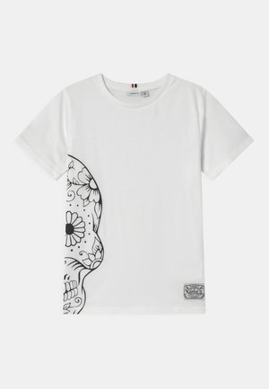 NKMTUSNILDA  - Print T-shirt - bright white