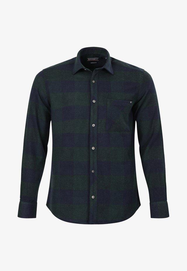 Overhemd - green-navy