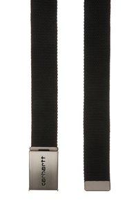 Carhartt WIP - CLIP BELT UNISEX - Pásek - black - 2