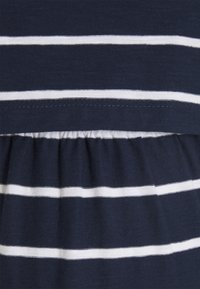 JoJo Maman Bébé - BRETON MATERNITY & NURSING TUNIC DRESS - Jersey dress - navy white stripe - 2