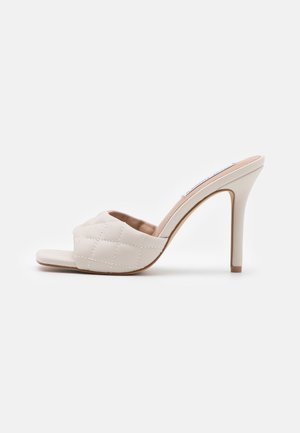 SIGNIFY - Heeled mules - bone