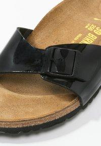 Birkenstock - MADRID - Pantofle - black - 2