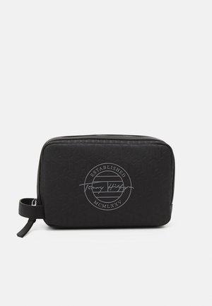 MONOGRAM WASHBAG - Wash bag - black