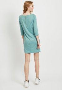 Vila - VITINNY - Day dress - mottled light blue - 2