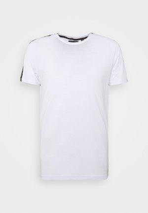 HARLAND - Camiseta estampada - white