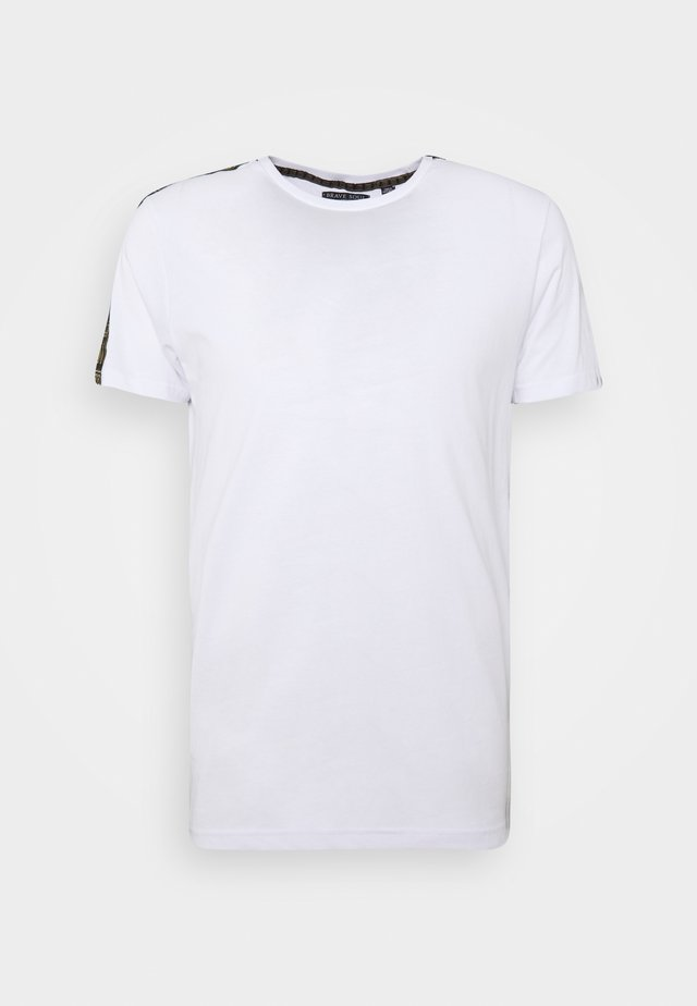 HARLAND - T-shirts med print - white