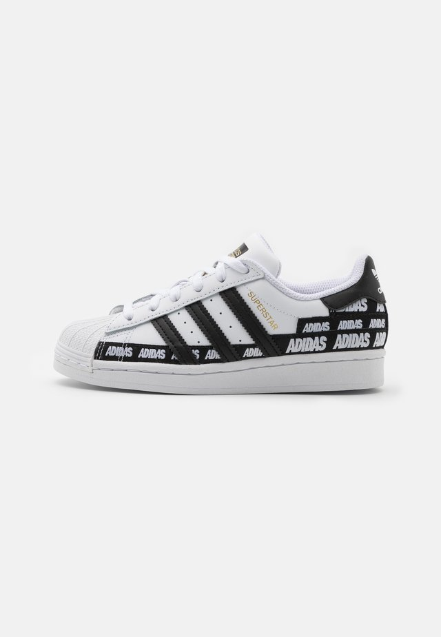 SUPERSTAR UNISEX - Trainers - footwear white/core black/gold metallic