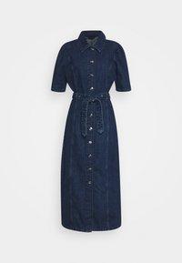 ONLY Tall - ONLCLARITY LIFE - Maxi dress - dark blue denim - 0