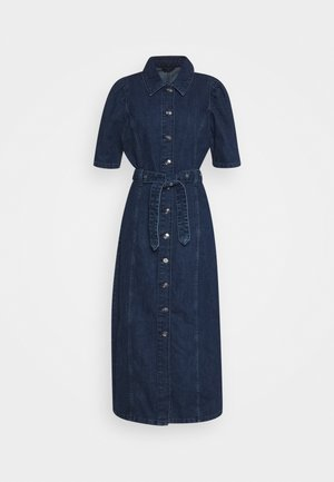 ONLCLARITY LIFE - Robe longue - dark blue denim
