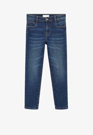 DUDES - Jeans Slim Fit - mittelblau