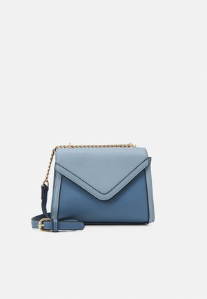 PCLOUISY CROSS BODY - Across body bag - kentucky blue/gold-coloured