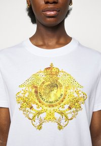 Versace Jeans Couture - LADY DRESS - Jersey dress - optical white - 5