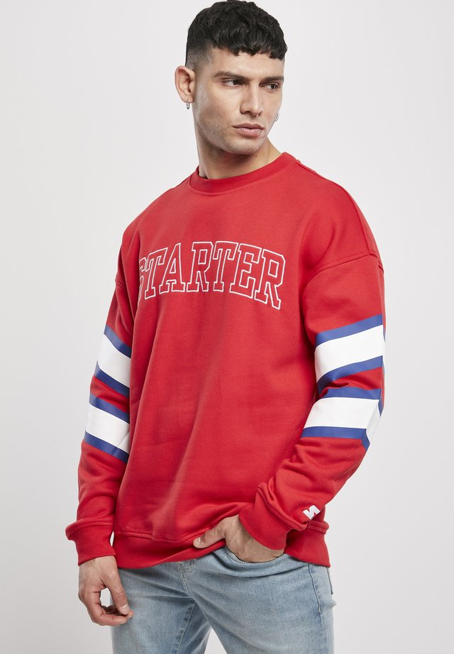Sweatshirt - starter red