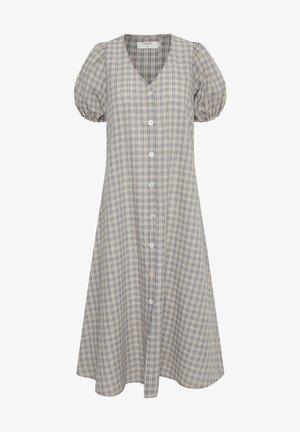 FIONA - Shirt dress - blue check