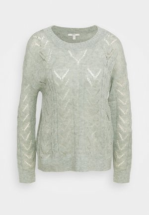 POINTELLE - Jumper - dusty green