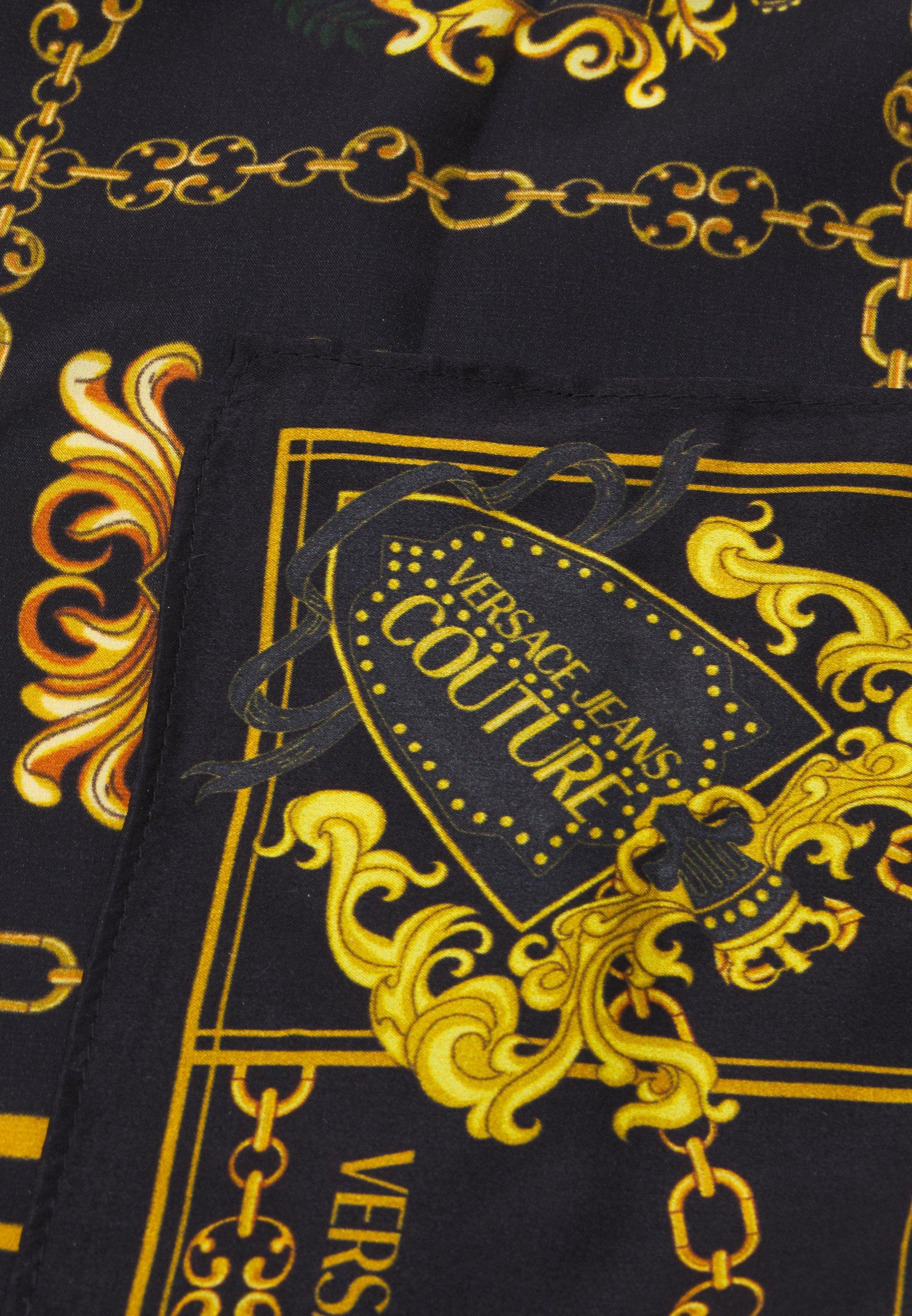 Versace Jeans Couture Sjal - nero/svart 1LWIh4waz4JYdku