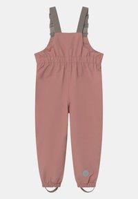 Wheat - OUTDOOR ROBIN TECH UNISEX - Kalhoty do deště - antique rose - 0