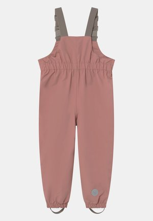 OUTDOOR ROBIN TECH UNISEX - Rain trousers - antique rose
