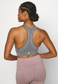 Sweaty Betty - STAMINA WORKOUT BRA  - Sports bra - charcoal marl - 2