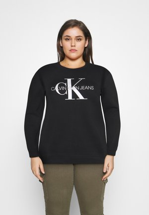 MONOGRAM LOGO - Sweatshirt - ck black