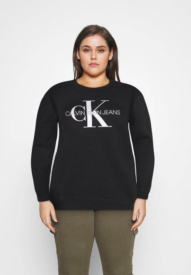 MONOGRAM LOGO - Sweatshirt - ck black