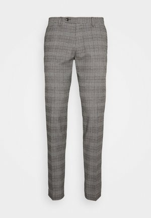 BRAVO TROUSER - Tygbyxor - brown/grey