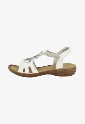 SOMERSET BRAID RIVERSIDE - Sandals - white