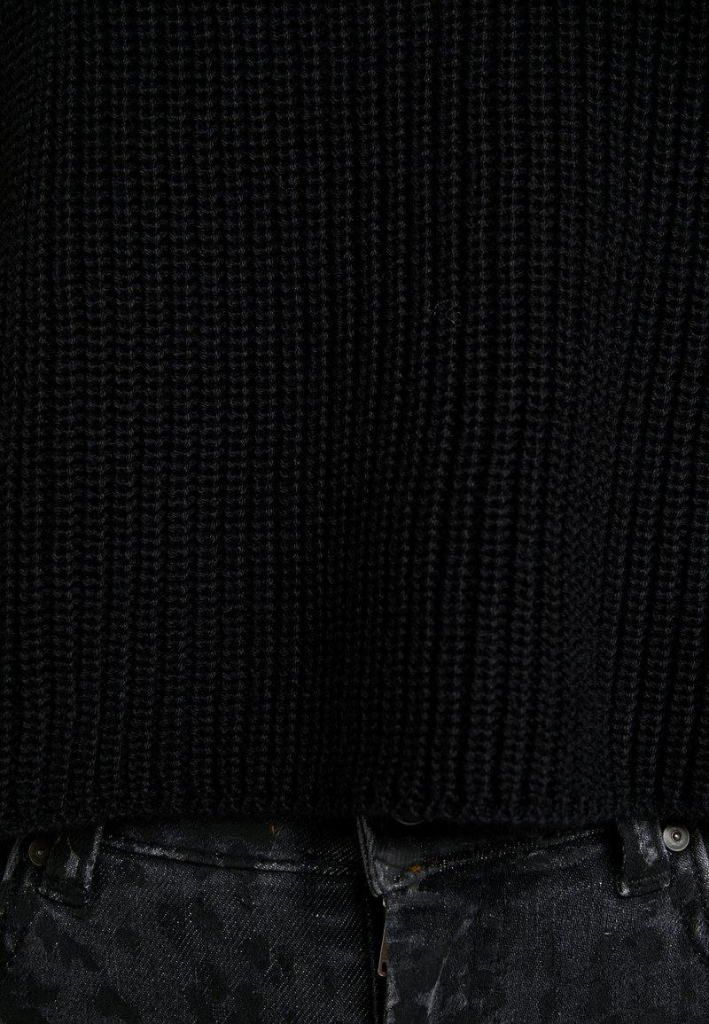 Even&Odd Petite Strickpullover - black/schwarz G1V0Nl