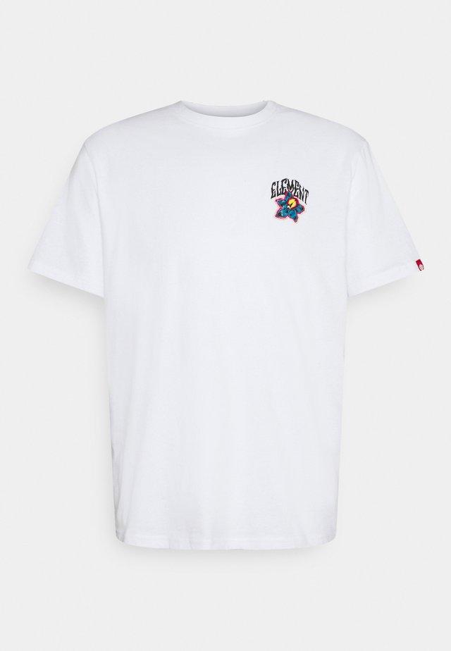 BASHOOKA - T-shirt con stampa - optic white