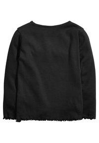 Next - Long sleeved top - black - 1