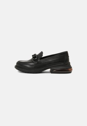 REX CHAIN - Loafers - black