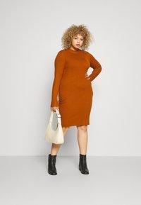 Even&Odd - Pouzdrové šaty - brown - 1