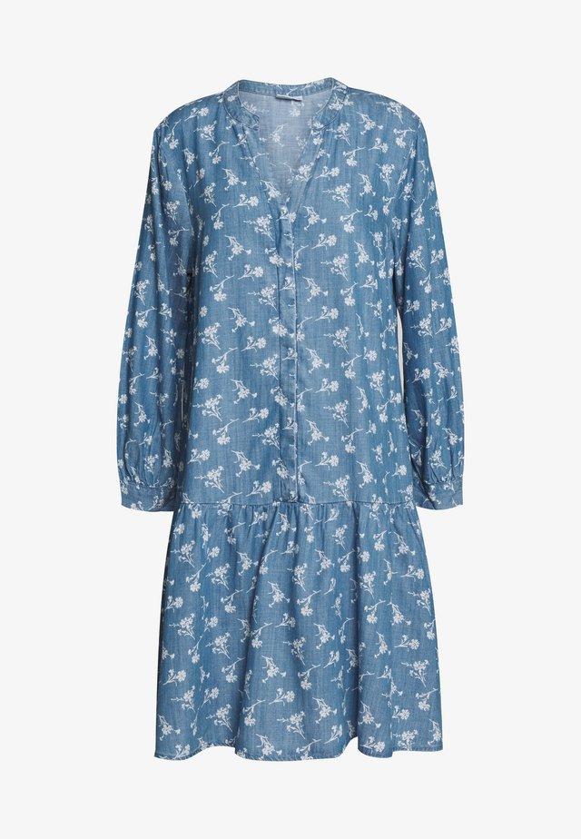 Denimové šaty - indigo