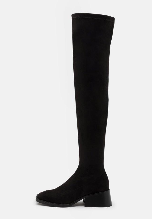 PATRIK  - Overknee laarzen - black