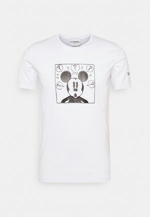 NEW COLLECTION WITH MICKEY MOUSE - T-shirt imprimé - bianco ottico