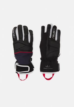 MIKAELA SHIFFRIN R-TEX® XT - Gloves - black/dress blue