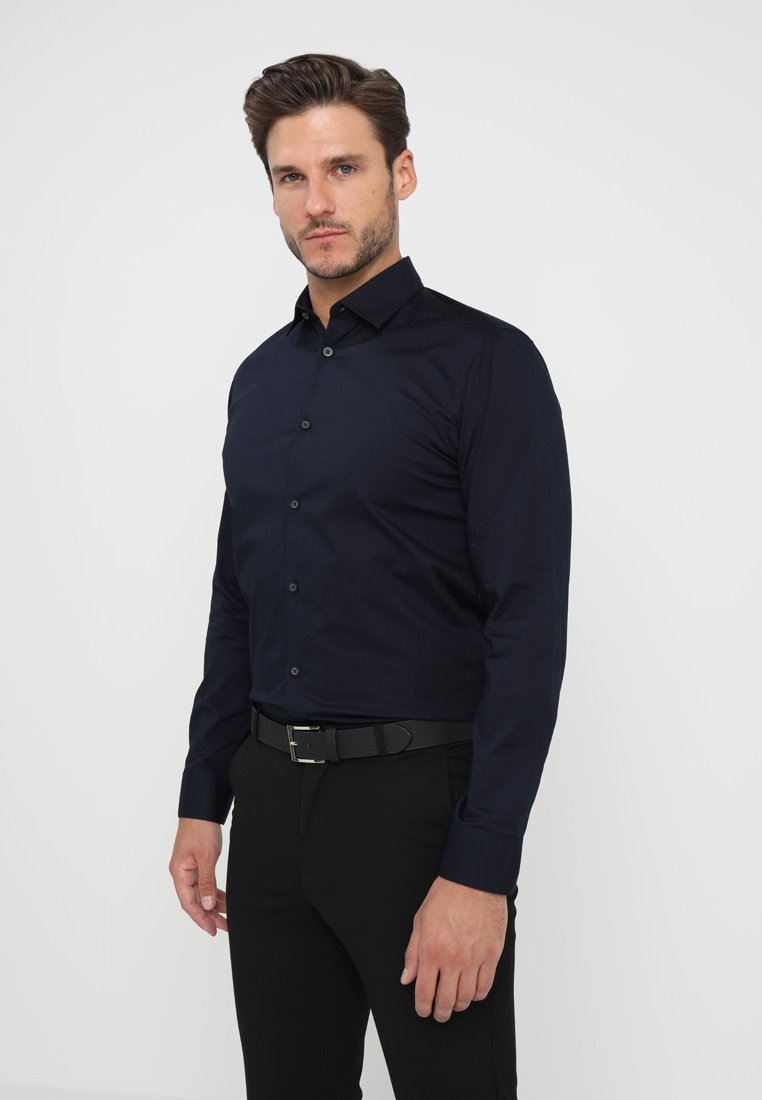 Selected Homme - SLHSLIMBROOKLYN - Chemise classique - navy blazer