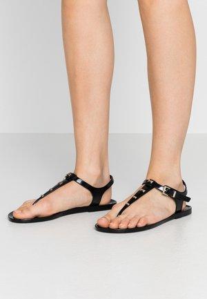 MEIYA - T-bar sandals - black