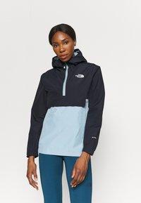 The North Face - WATERPROOF FANORAK - Outdoor jacket - dark blue - 0