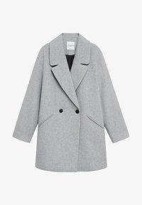 Violeta by Mango - CRUZA - Short coat - hellgrau meliert - 5