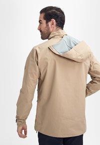 Mammut - TROVAT - Hardshell jacket - brown - 3