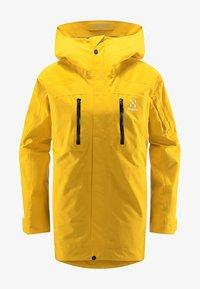 Haglöfs - ELATION GTX JACKET  - Snowboard jacket - pumpkin yellow - 4
