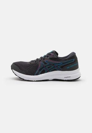 GEL CONTEND 7 - Neutrální běžecké boty - graphite grey/digital aqua