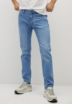 JAN - Slim fit jeans - light-blue denim