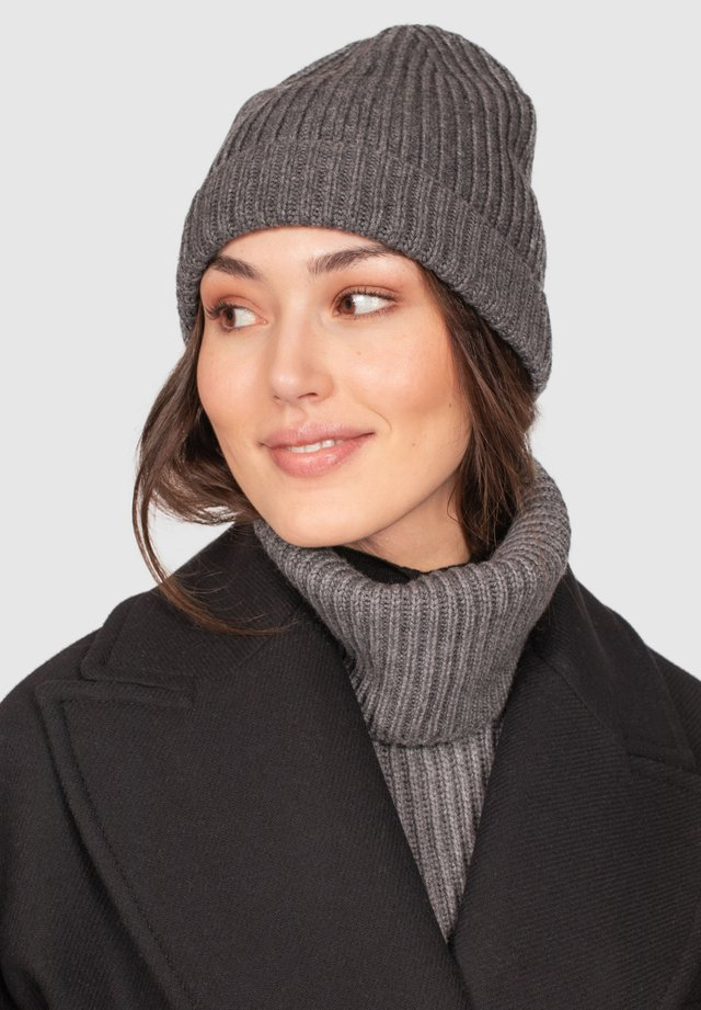 Bonnet - grey melange