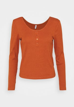 ONLSIMPLE LIFE  - Long sleeved top - ginger bread