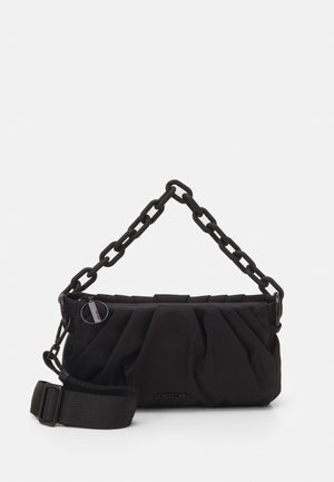 SATCHEL BAG - Bolso de mano - black