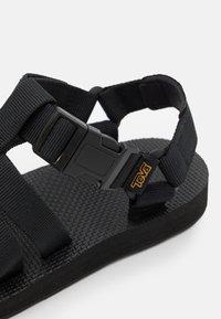 Teva - ORIGINAL DORADO - Walking sandals - black - 5