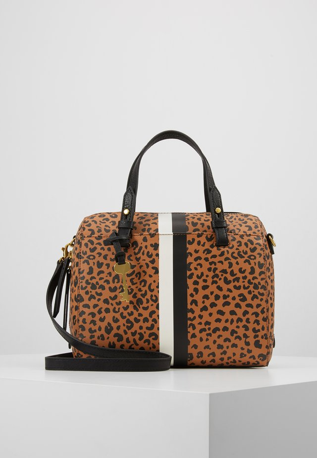 RACHEL - Handtasche - brown/black